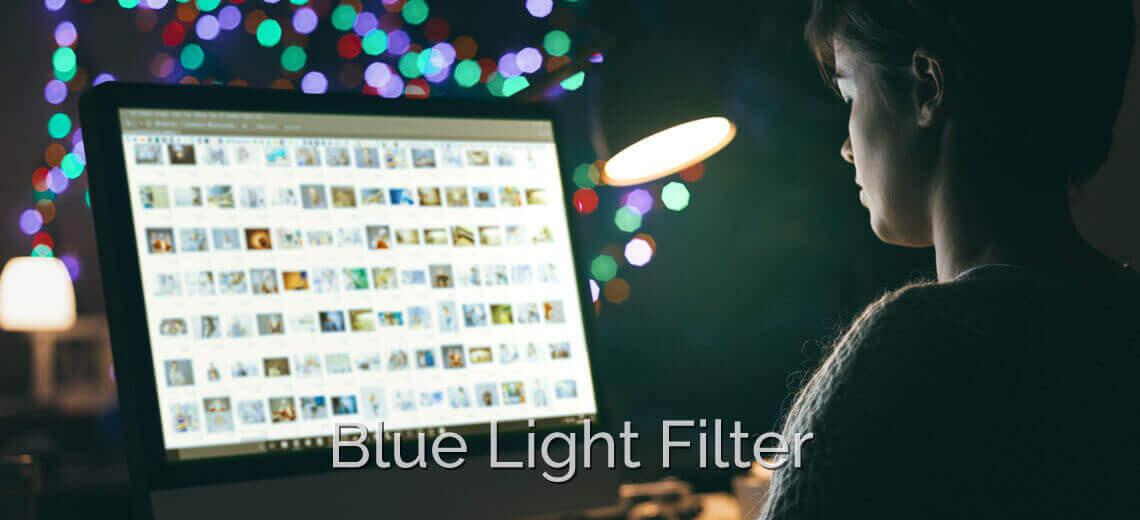 bluelight wth lens